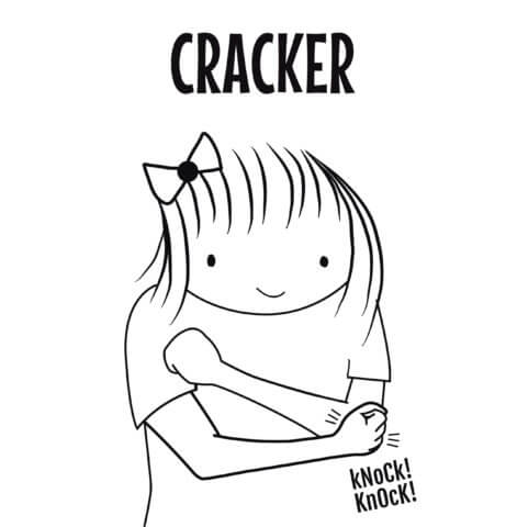 sign language for cracker