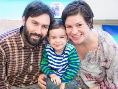 Family photo happy